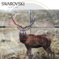Puškohled Swarovski ds 5-25x52 P L 4A-I