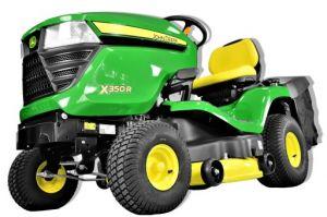 Zahradní traktor John Deere X350R - použitý