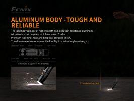 Nabíjecí taktická svítilna Fenix TK22 V2.0 se stroboscopem